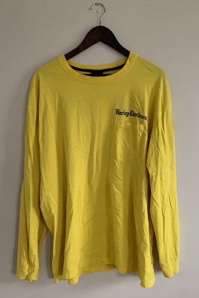 Vintage 'Highlighter' Harley T-Shirt Vintage, Shop Serendipity Ave, Shop Serendipity Ave  - Shop Serendipity Ave
