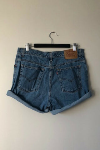 Vintage Levi's 'Rolled' Denim Shorts Vintage, Shop Serendipity Ave, Shop Serendipity Ave  - Shop Serendipity Ave