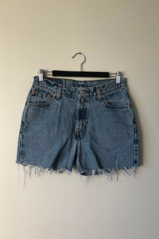 Vintage Levi's '512' Denim Shorts Vintage, Shop Serendipity Ave, Shop Serendipity Ave  - Shop Serendipity Ave