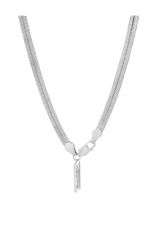Silky Tie Necklace - Sterling SIlver Accessories, Noemie, Shop Serendipity Ave  - Shop Serendipity Ave