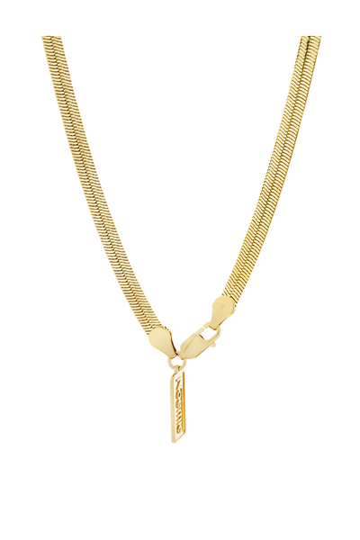 Silky Tie Necklace - Gold Vermeil Accessories, Noemie, Shop Serendipity Ave  - Shop Serendipity Ave