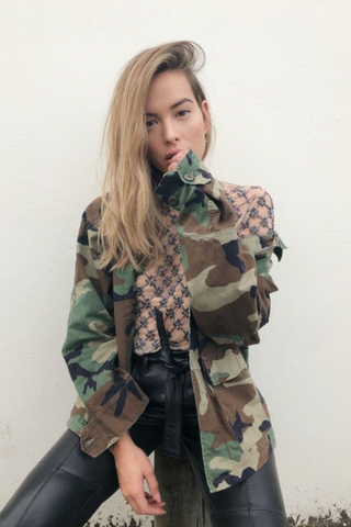 Vintage US Army Jacket Jackets, Shop Serendipity Ave, Shop Serendipity Ave  - Shop Serendipity Ave