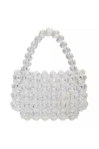 Zeenat Clear Beaded Bag Accessories, Shop Serendipity Ave, Shop Serendipity Ave  - Shop Serendipity Ave