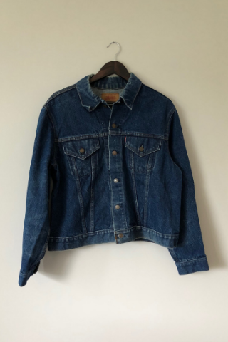 Vintage Levi's Jacket - Dark Blue Wash Jackets, Shop Serendipity Ave, Shop Serendipity Ave  - Shop Serendipity Ave