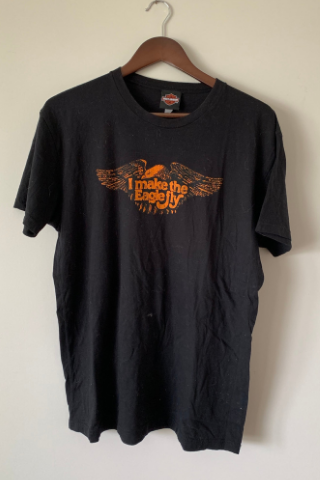 Vintage 'Eagle' Harley T-Shirt Vintage, Shop Serendipity Ave, Shop Serendipity Ave  - Shop Serendipity Ave