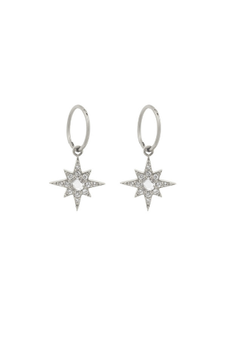 Starburst Hoops - Sterling Silver Accessories, Shop Serendipity Ave x Monarc Jewellery, Shop Serendipity Ave  - Shop Serendipity Ave