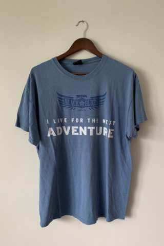 Vintage 'Adventure' Harley T-Shirt Vintage, Shop Serendipity Ave, Shop Serendipity Ave  - Shop Serendipity Ave