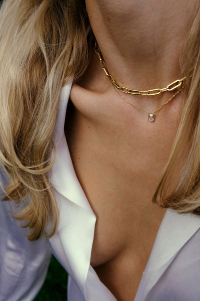 Monarc Suitor Necklace Chain - Gold Vermeil Accessories, Monarc, Shop Serendipity Ave  - Shop Serendipity Ave