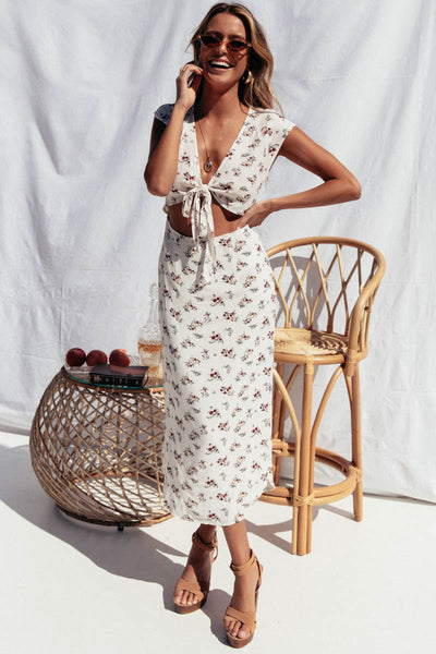 Sienna Floral Dress Dresses, Shop Serendipity Ave , Shop Serendipity Ave  - Shop Serendipity Ave