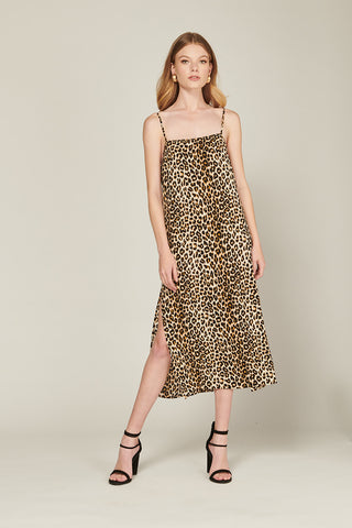 Lina Leopard Dress - Lucky Last Size 6 Dresses, Shop Serendipity Ave, Shop Serendipity Ave  - Shop Serendipity Ave