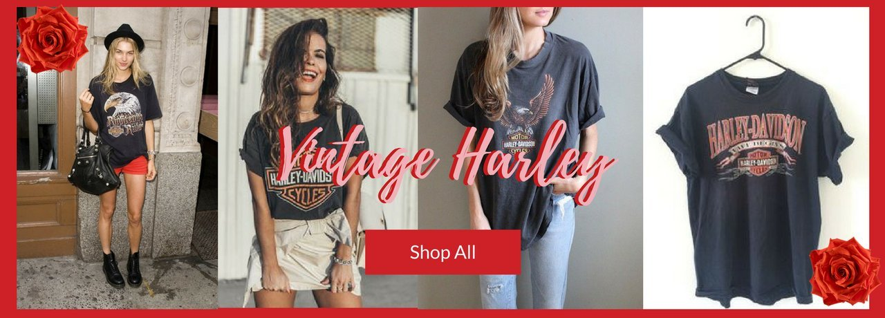 Shop Serendipity Ave Online Boutique New Zealand Vintage Harley Shirt