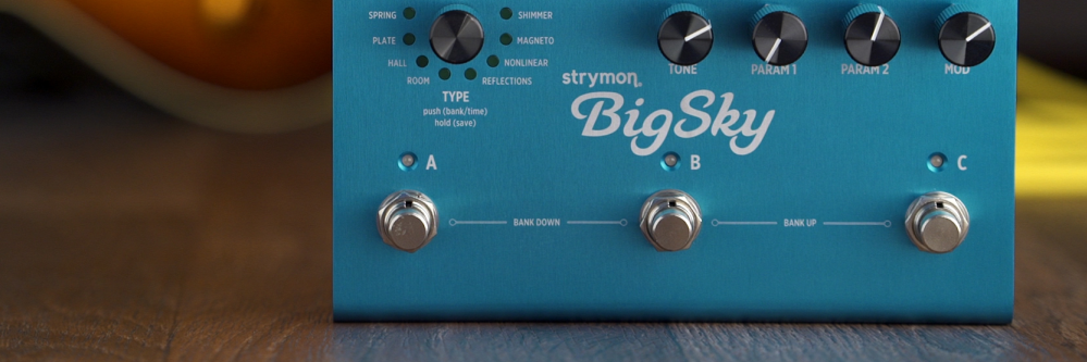 Strymon Big Sky Reverberator Demo