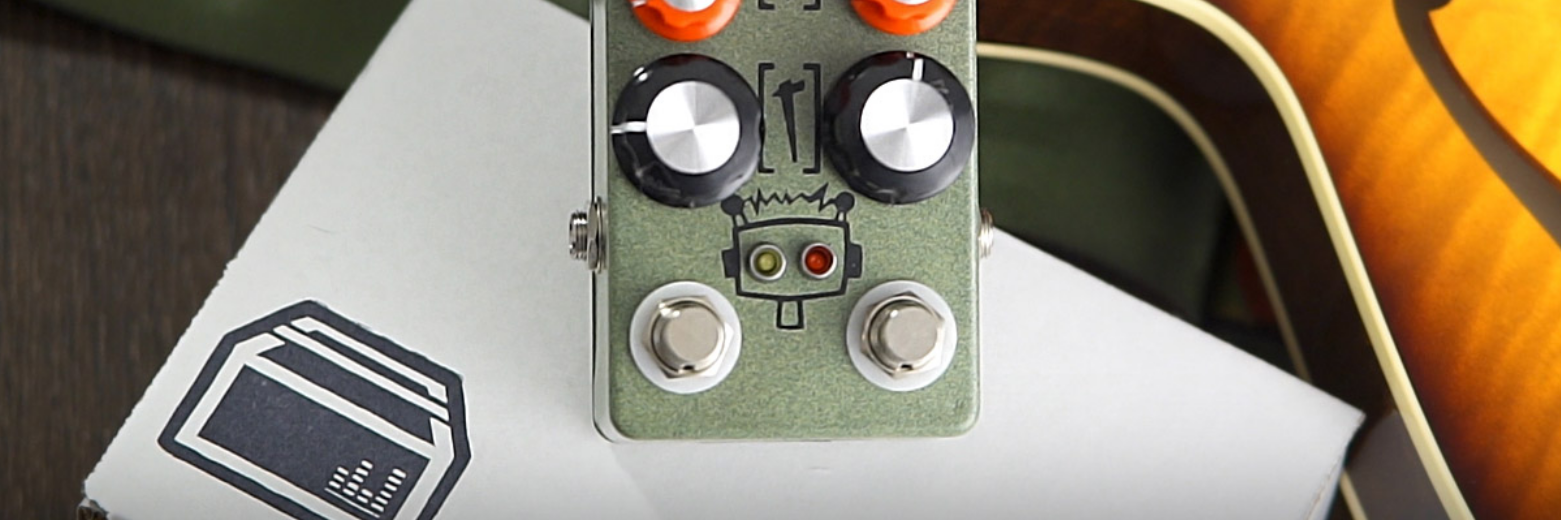 Hungry Robot Pedals Dual Channel Overdrive HG+LG Demo