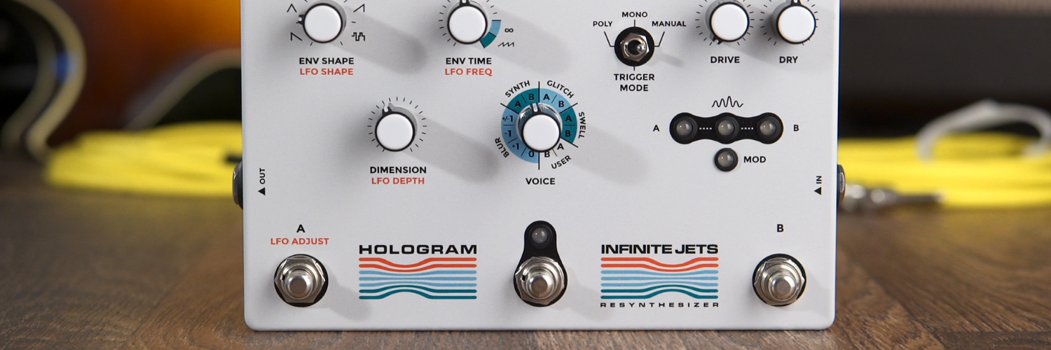 Hologram Infinite Jets Resynthesizer Demo