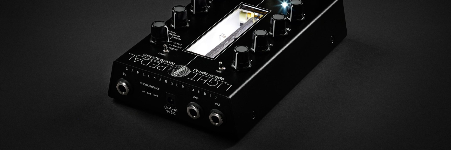 Gamechanger Audio Announces Light Pedal At Winter NAMM 2020