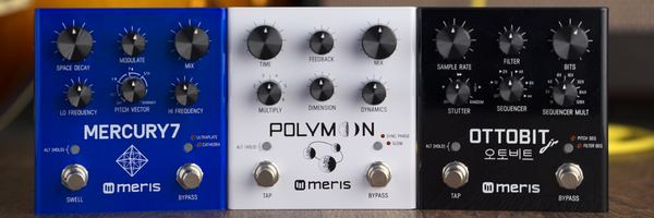 Meris Polymoon Modulated Delay, Ottobit Jr & Mercury7 Reverb Overview