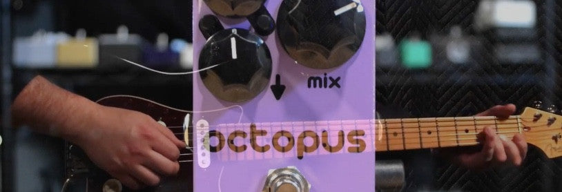 Stomp Audio Labs Octopus FULL DEMO with Sean Gibson for The Sound Parcel