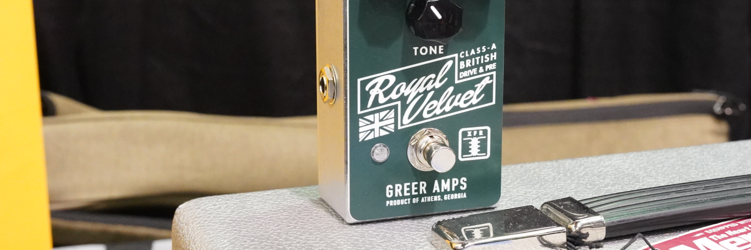 Greer Royal Velvet | Winter NAMM 2020 | The Sound Parcel
