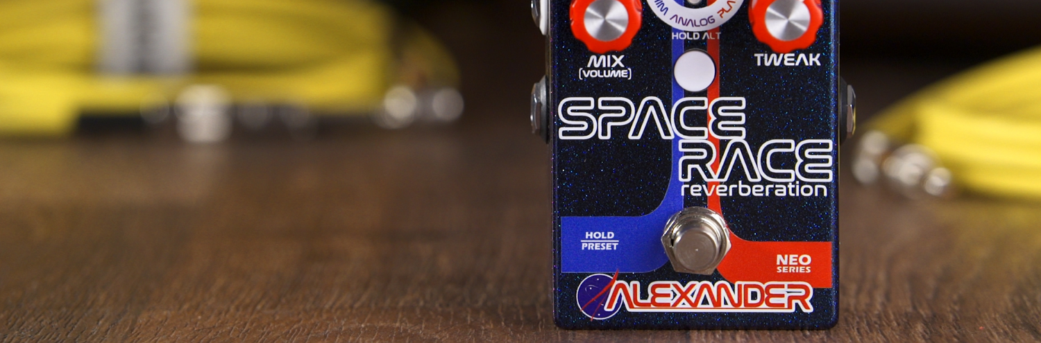 Alexander Pedals Space Race
