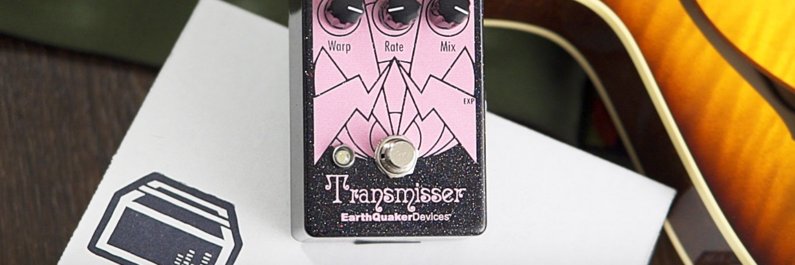 Earthquaker Devices Transmisser Modulated Reverb Demo