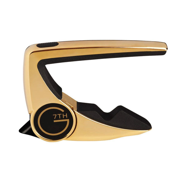 G7th Performance 2 Capo for 6-String Guitar (Gold)