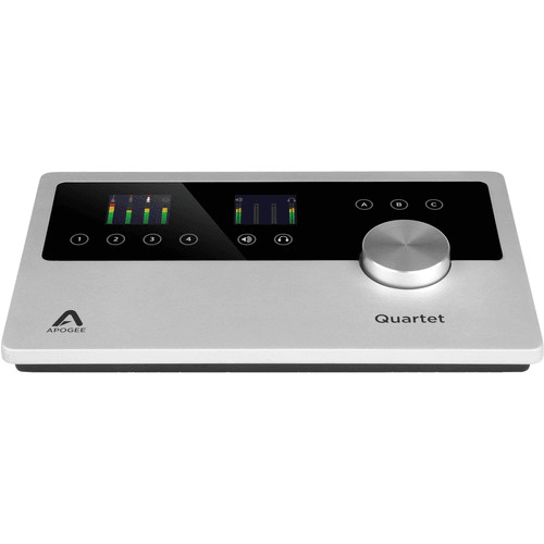 Apogee Quartet 12 IN x 8 OUT USB Audio Interface for Mac and PC