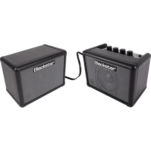 Blackstar FLY 3 Stereo Bass Pack - - Battery-Powered Mini Bass Guitar Amp, Extension Cabinet & Power Supply