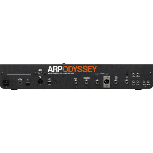 Korg ARP Odyssey Synthesizer Module Rev3 - Black/Orange