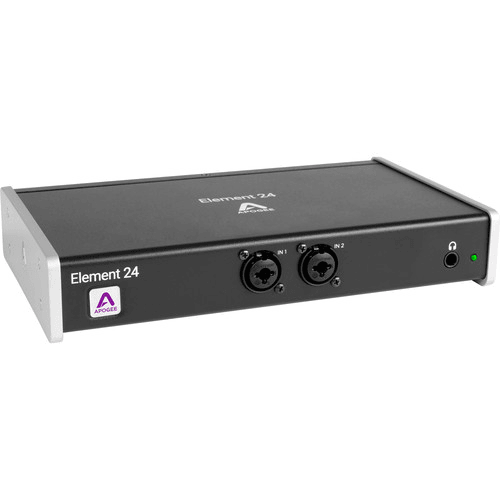 Apogee Electronics Element 24 10x12 Thunderbolt Audio I/O Box for Mac