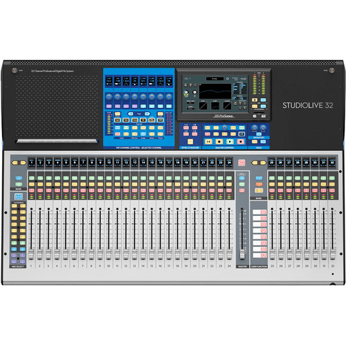 PreSonus StudioLive® 32 (III Series) 40-Input Digital Console/Recorder with Motorized Faders