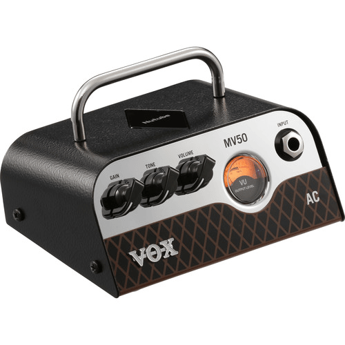 VOX MV50 AC 50W Amplifier Head with Nutube Preamp