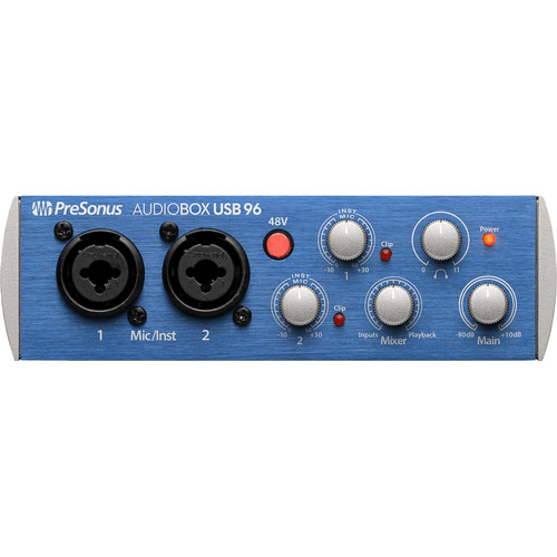 PreSonus AudioBox 96 USB 2.0 Audio Recording Interface