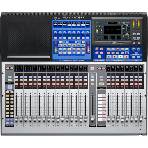 PreSonus StudioLive® 24 (III Series) 32-Input Digital Console/Recorder with Motorized Faders