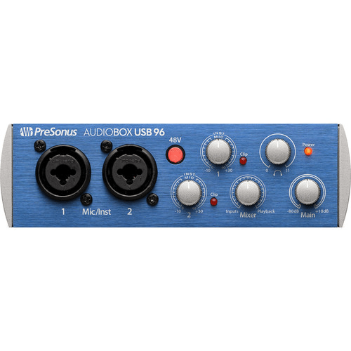 PreSonus AudioBox 96 Studio Recording System
