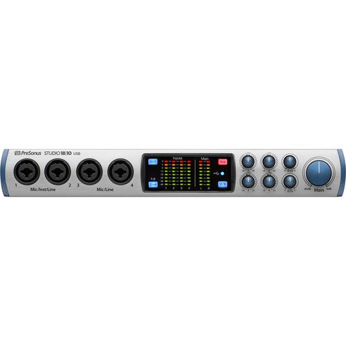 PreSonus Studio 1810 18x8 USB 2.0 24-Bit 192 kHz Audio Interface
