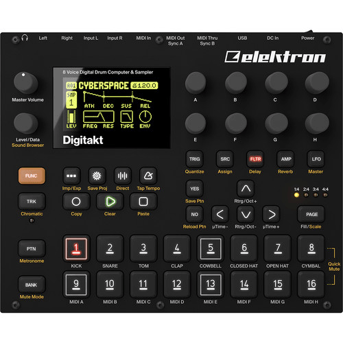 Rent Elektron Digitakt