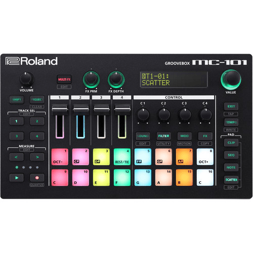 Roland MC-101 Portable Groovebox **In-Stock**