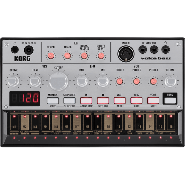 Rent Korg Volca Bass Analogue Bass Machine