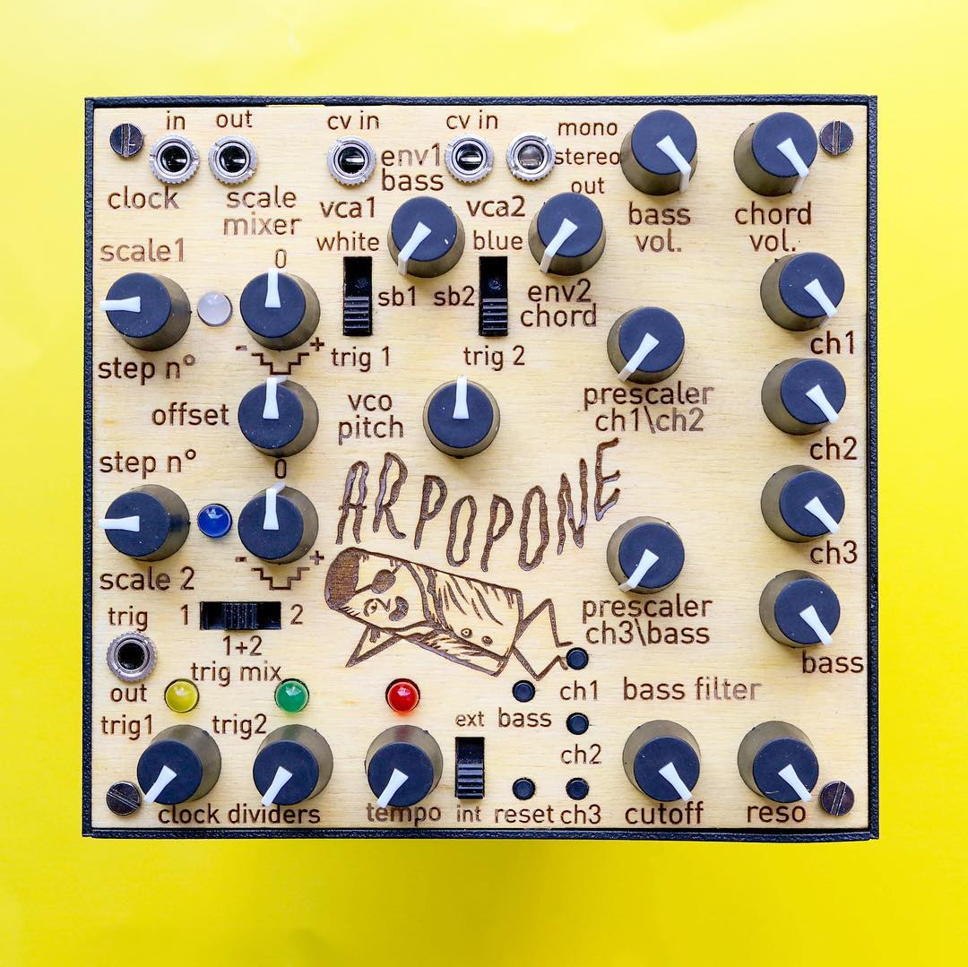 L E P  Arpopone Melody & Bass Line Generator - The Sound Parcel