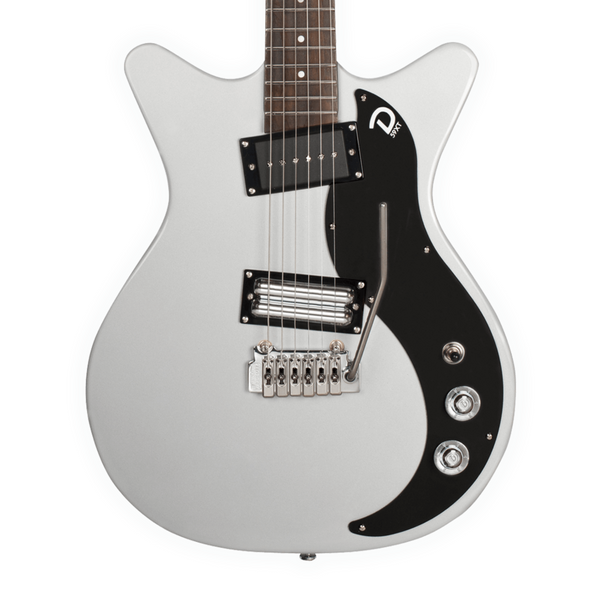 Danelectro 59XT Silver with Wilkinson Tremolo