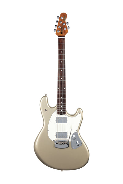 Ernie Ball Music Man StingRay RS - Ghostwood with Figured Roasted Maple Neck and Rosewood Fretboard