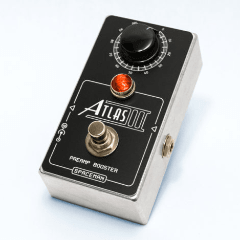 Spaceman Atlas III: Discrete Preamp Booster