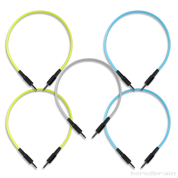 Boredbrain 3.5mm TS Mono Patch Cables