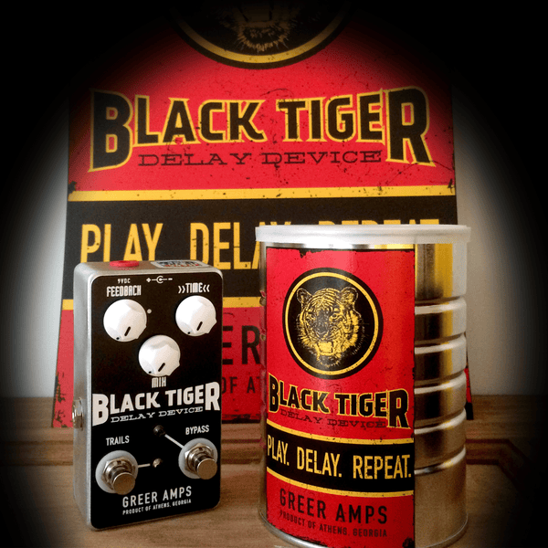 Rent Greer Amps Black Tiger Delay Device