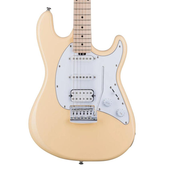 Sterling by Music Man Cutlass HSS, Vintage Cream
