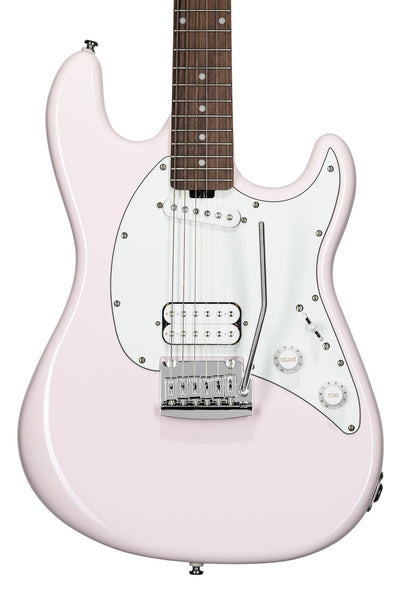 Sterling by Music Man Short Scale Cutlass HS, Shell Pink