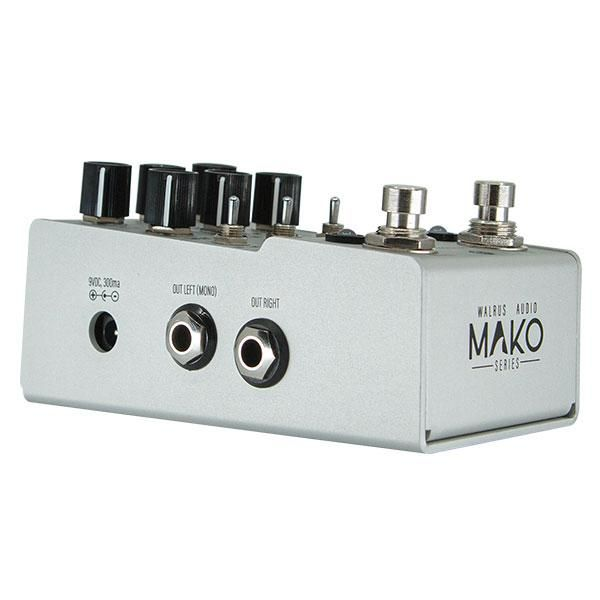 Walrus Audio Mako Series: D1 High Fidelity Stereo Delay
