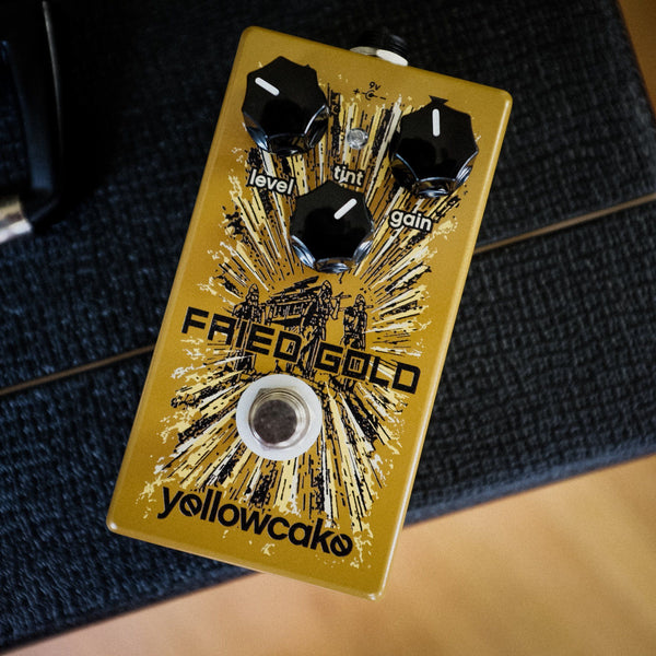 Yellowcake Pedals Fried Gold USED
