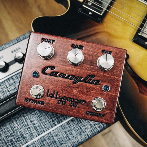Lollygagger FX Canaglia Overdrive / Standard Vintage Red