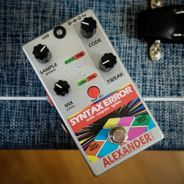 Alexander Pedals Syntax Error [ Used ]
